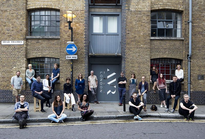 Architectural visualisation company AVR shares its home on Shad Thames, London with Anise Gallery