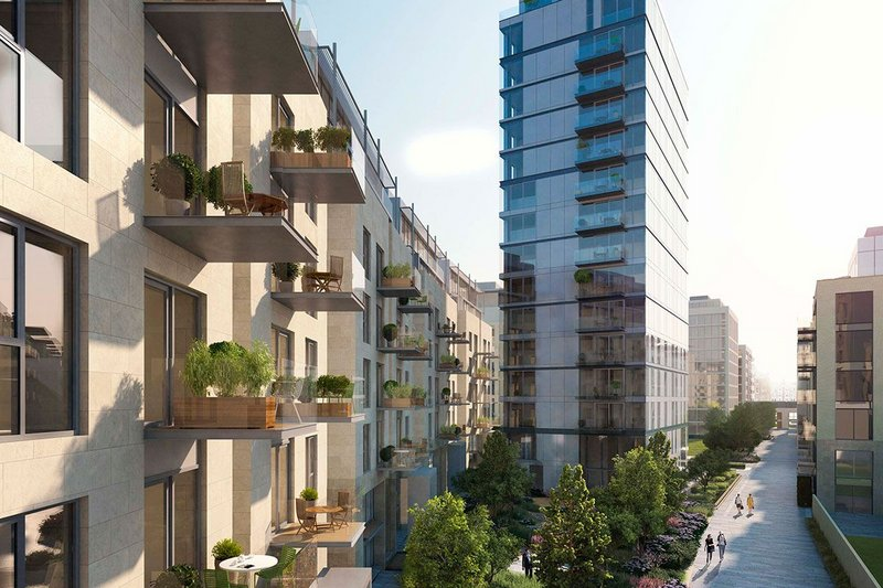 The Lillie Square development is one of the largest in London, stretching from Chelsea to Kensington.