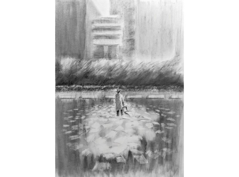 Last year's overall winner was Tszwai So of Spheron Architects for his drawings titled An Echo in Time.