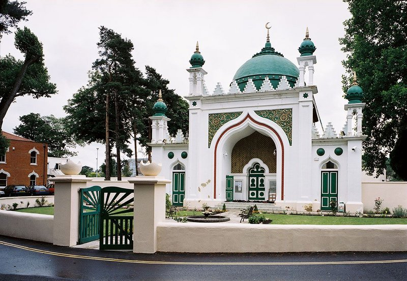 The Shah Jahan Mosque, Woking, was commissioned by Dr Gottlieb Leitner, designed by William Isaac Chambers and completed in 1889