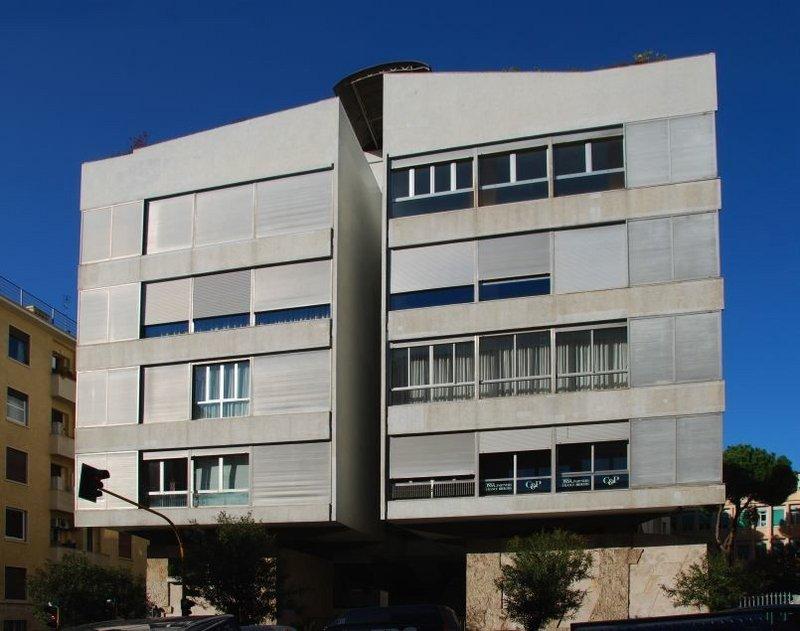 Girasole Building, Rome.