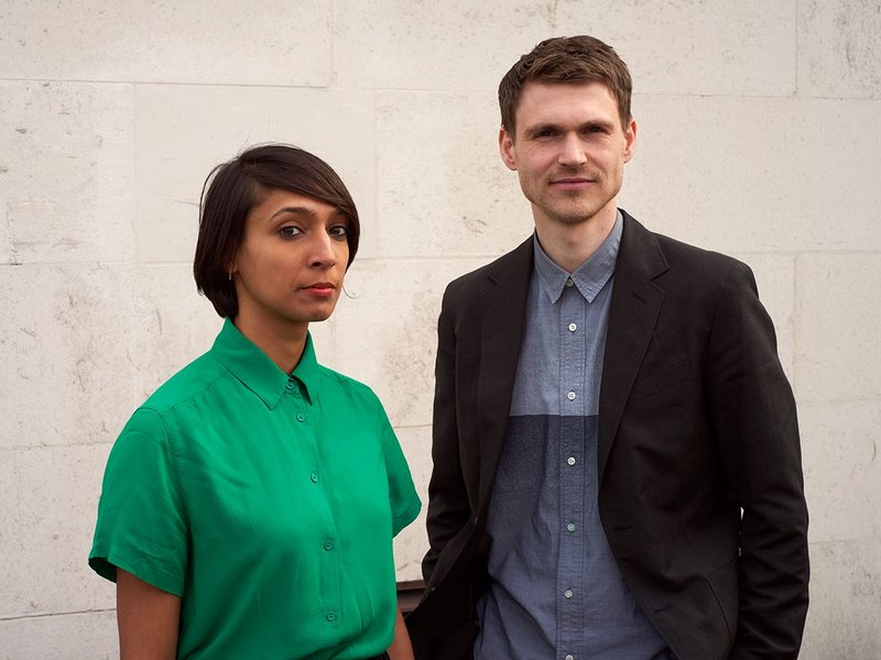 Pooja Agrawal and Finn Williams, Public Practice co-founders.