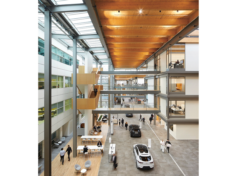 The Jaguar Land Rover Advanced Product Creation Centre designed by Bennetts Associates demonstrates that moving towards standardisation can produce striking, sustainable architecture.
