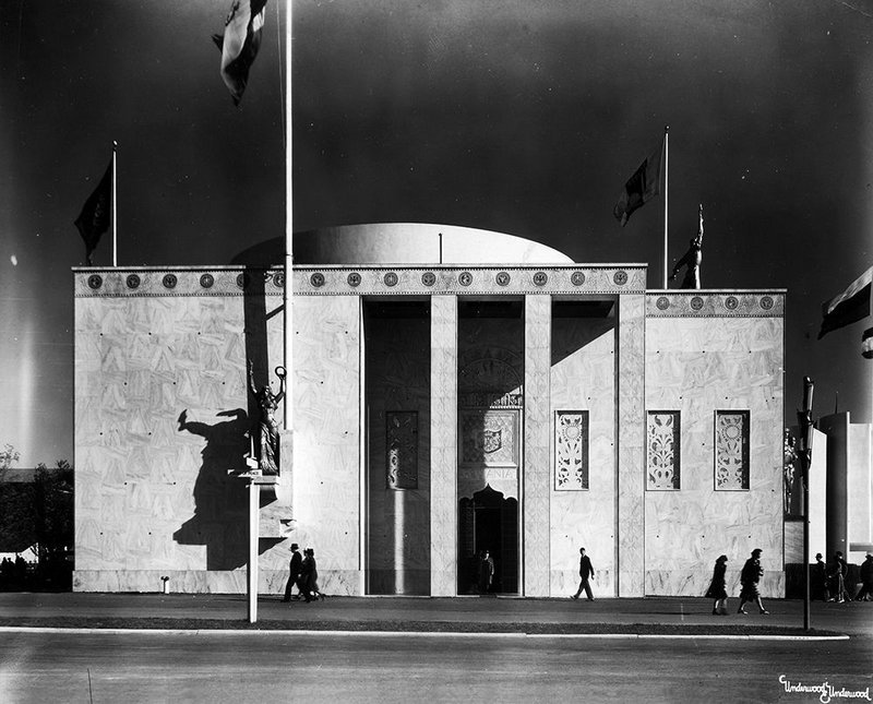 New York World Fair 1939 pavilion