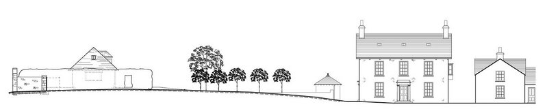 Agreeing a home for a new garage. Alongside the garden wall? On the vegetable patch? On the orchard?
