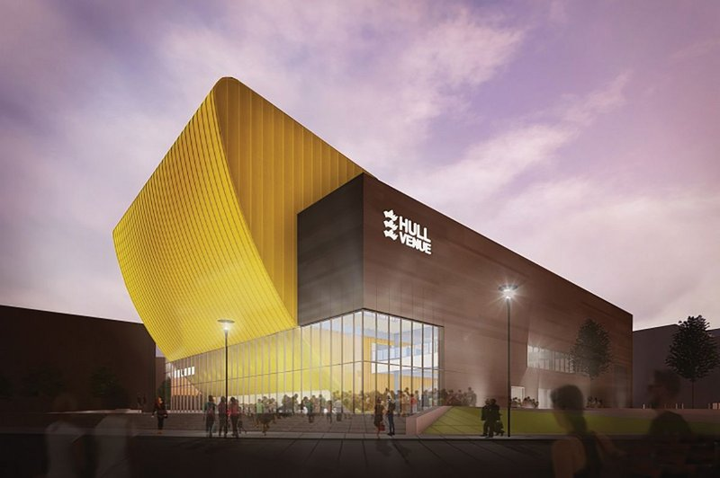 Hull Venue by AFL Architects received consent in early March
