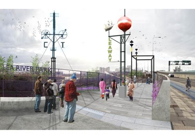 The Lower Lea Valley as conceived by 5th Studio.