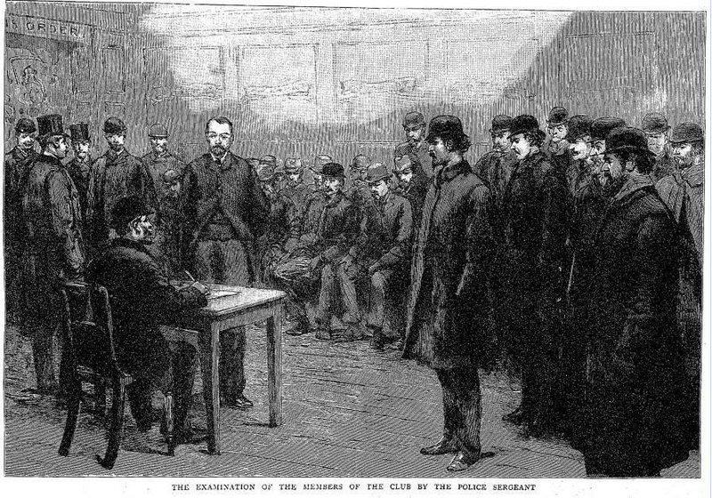 Autonomie Club, The Graphic, 1894.