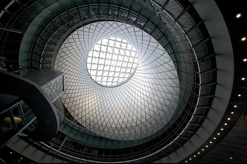 Fulton Center, New York, United States.