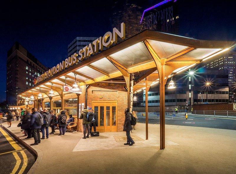 West Croydon Bus Station London by TFL architects