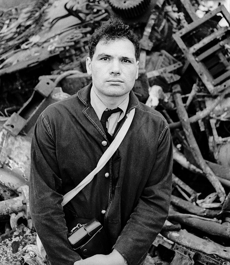 Eduardo Paolozzi at the Shipbreakers' Yard, Hamburg c. 1962.