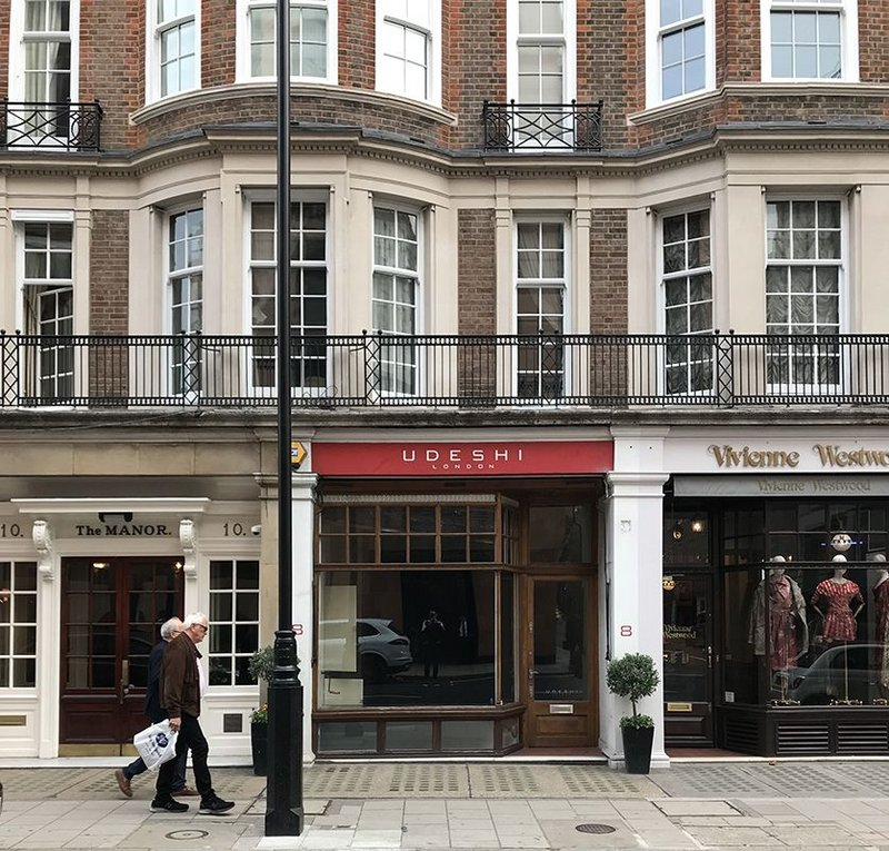 A change in lighting, to LEDs, shifted this retail unit in Mayfair two notches up the energy efficiency scale.