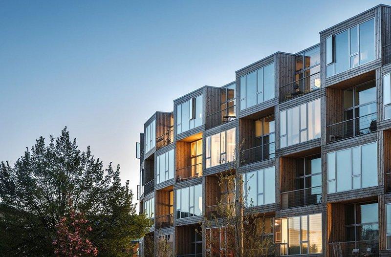 Dortheavej Residence affordable housing, Copenhagen.  Bjarke Ingels Group.