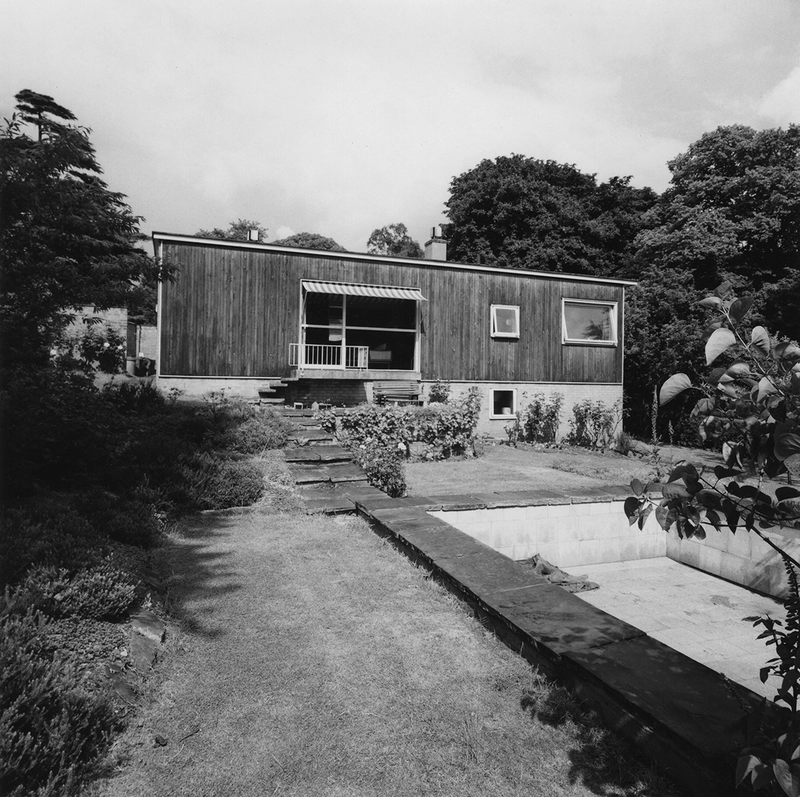 June Park's House 7 Fitzroy Park, Highgate, London ,1951.