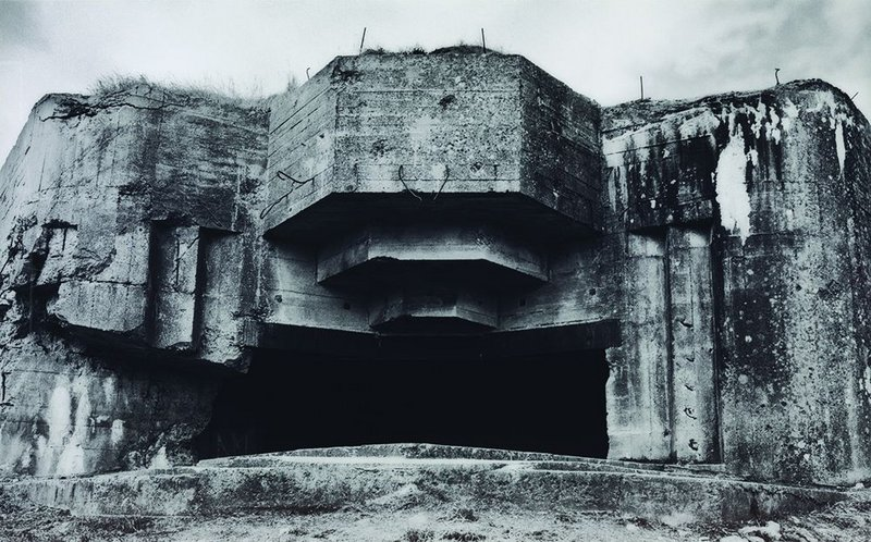 Jane and Louise Wilson's Azeville (2006), a dislocated chunk of proto-Brutalism from Normandy.