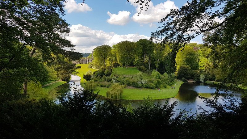 Studley Royal Water Gardens. National Trust Images/Chris Lacey