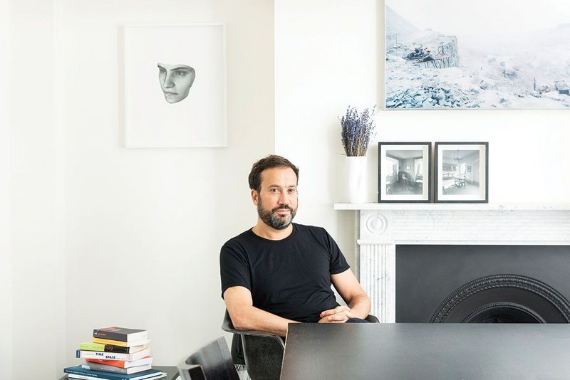 Forensic Architecture's Eyal Weizman occupying his own home.