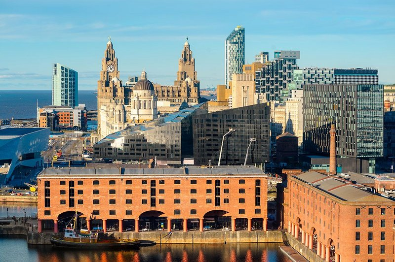 Liverpool's changing waterfront.
