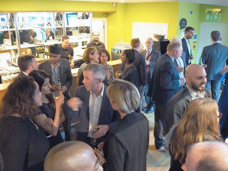 Can we have quality and quantity of housing? Attendees gather at BDP's Birmingham office.