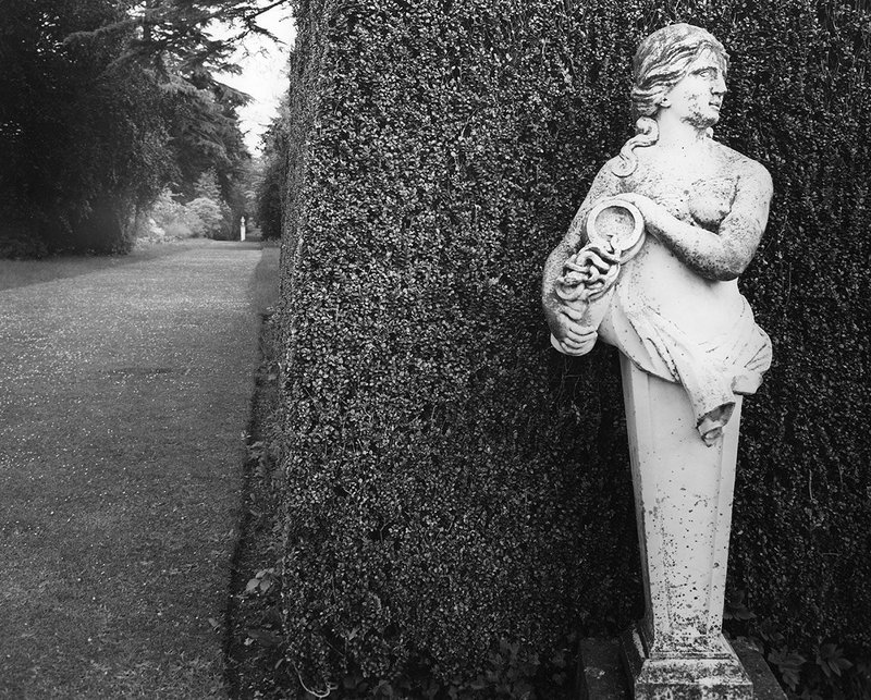 Figure in the form of a herm at Blenheim.