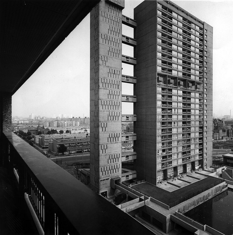 Balfron Tower, 1971.
