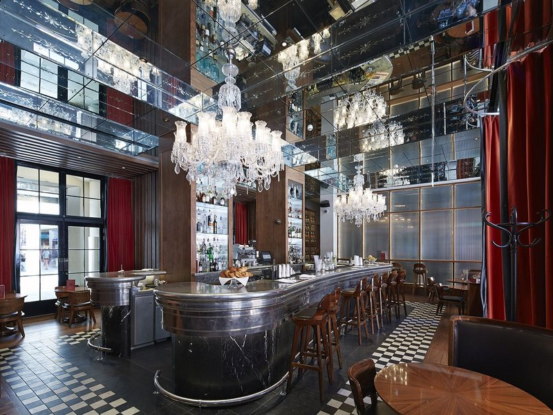 GNH Bar, Archer Humphryes Architects.