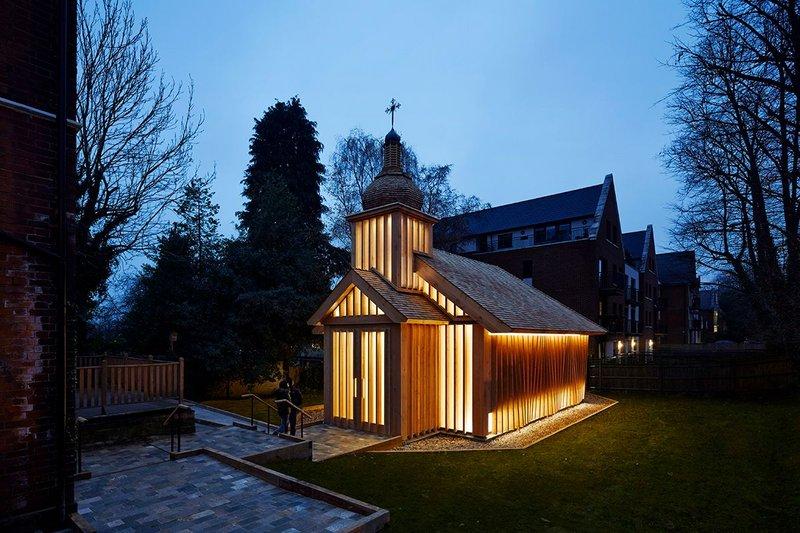 Belarusian Memorial Chapel, Woodside Park.