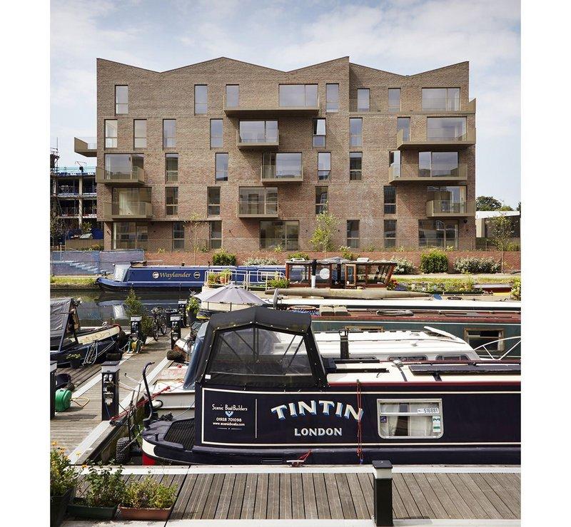 Brentford Lock West, London housing by Duggan Morris Architects.