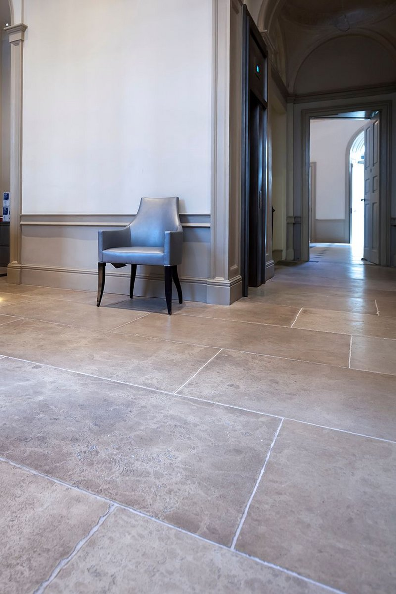 The Portland patinated floor by Artorius Faber.