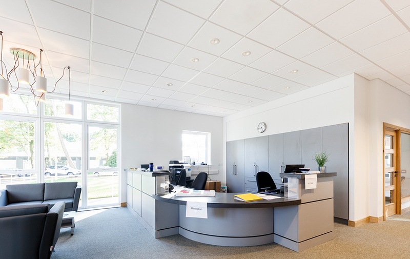 Zentia Perla Tegular and Prelude ceiling tiles: The right specification can improve aesthetics, acoustics, light levels and air quality.