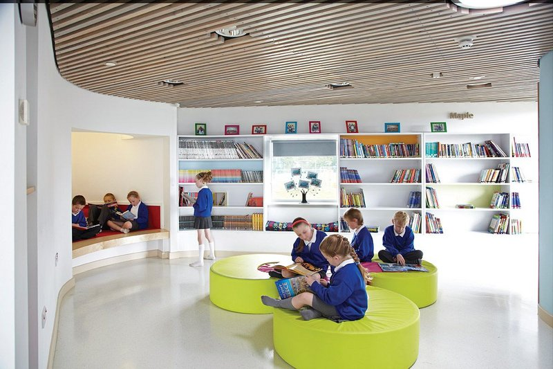We wanted to do away with the traditional classrooms and corridors' – head teacher Jane Loomes on Jesmond Gardens Primary School.