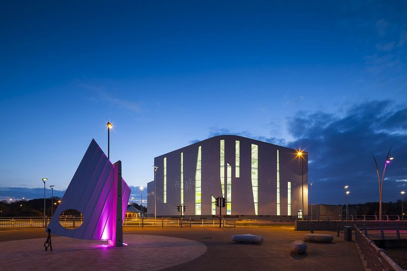 Haven Point Leisure Centre, South Shields – LA Architects. Click on image