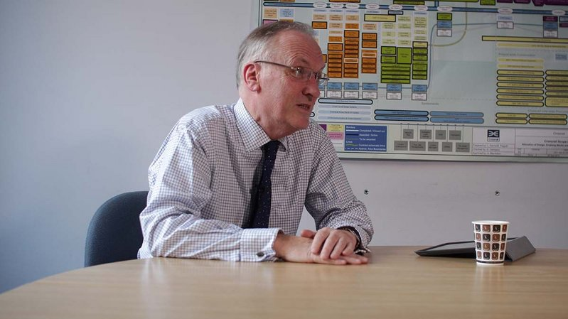 Charles Mills, head of Crossrail at London Underground