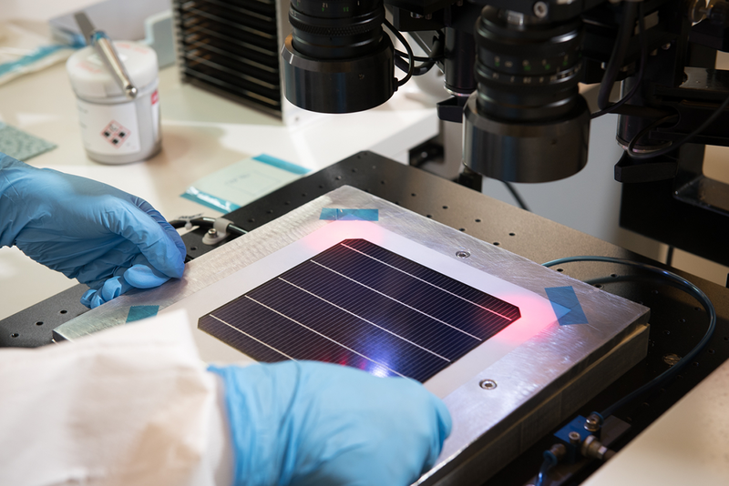 Coating perovskite on silicon cells leads to jumps in solar cell performance far in excess of current best-case outputs.