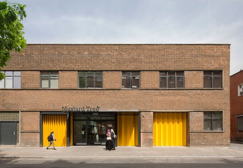 Transforming a leaky gift to the charity OMI Architects has designed a new home for Mustard Tree. MacEwen Award 2019 shortlisted Mustard Tree, Ancoats, Manchester by OMI Architects