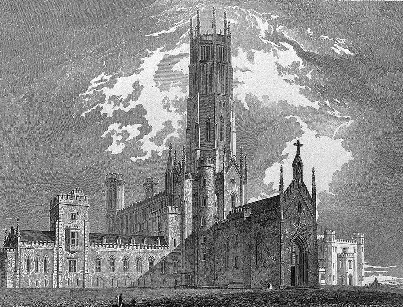 'A fatal abode,' Beckford's Fonthill, designed by James Wyatt.