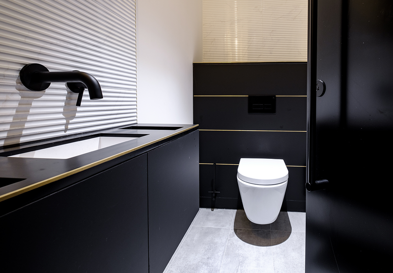 'Superloos' are self-contained spaces with a toilet, vanity unit and hand-drying in a single cubicle, providing privacy in the workplace.